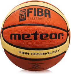 Meteor Piłka Koszowa Treningowa Cellular #7 B/K FIBA (07000F)