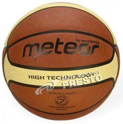 Meteor Piłka do koszykówki  Cellular r. 7 B/K FIBA (07000F)