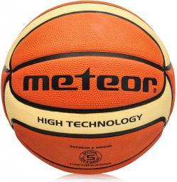 Meteor Piłka do koszykówki Cellular #5 B/K (07030)