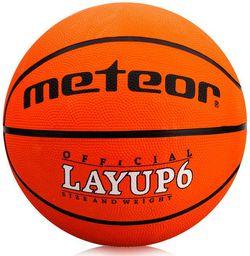 Meteor Piłka Koszowa LAYUP #6 pomarańczowa (07054)