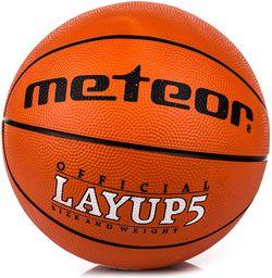 Meteor Piłka do koszykówki LAYUP #5 pomarańczowa (07053)
