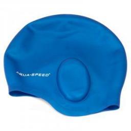 Aqua-Speed Czepek pływacki Ear Cap 01 niebieski (49962)
