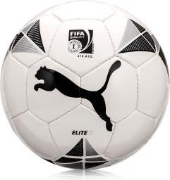 Puma Piłka Nożna Elite 2 (FIFA Inspected) + Igła biała czarno-srebrna (01653)