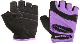 Meteor Rękawiczki Fitness Grip Lady Violet XS (32035)