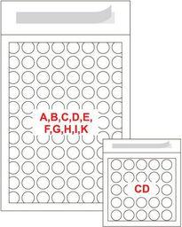 FILMAR Classic OP. 10szt. Koperta powietrzna CD Rozmiar wewnętrzny (mm) 180 x 165, - kpk3220170