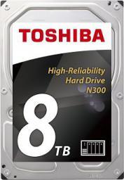 """Dysk serwerowy Toshiba N300 8TB 3.5"""" 7200 SATA III (HDWN180EZSTA)"""