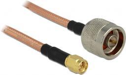 Delock Kabel  N -> SMA 40cm, RG-142 (88896)
