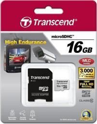 Karta MicroSD Transcend High Endurance microSDHC 16GB C10 (TS16GUSDHC10V)