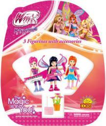 Cobi Winx Figurki z akcesoriami 3szt. (25003)