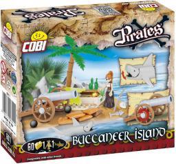 Cobi Piraci Wyspa Bukaniera 60kl. (6011)