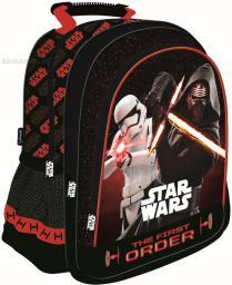 St. Majewski Plecak szkolny Star Wars Epizod VII Red czarno-czerwony (233758)