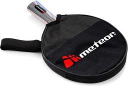 Meteor Standard Plus pokrowiec na rakietkę do tenisa Stołowego, czarno-szary