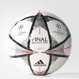 Adidas Piłka Nożna Capitano Finale16 Milano SOC AC5486 biała (01663)