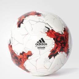 Adidas Piłka Nożna Adidas Confederation Krasava Ekstraklasa Glider BQ7624 Biała (01763)