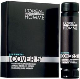 L'Oreal Professionnel Homme Cover 5' Farba 4 - Brąz 50 ml