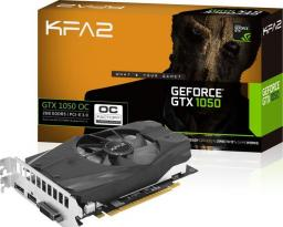 Karta graficzna KFA2 KFA2 GTX 1050 OC, 2GB GDDR5, 128-bit, DVI, HDMI, DP (50NPH8DSN8OK)