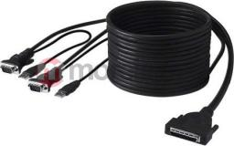 Kabel KVM Belkin kabel KVM serii Administrator 3.6 m podwójny kabel USB F1D9401-12