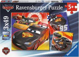 Ravensburger Puzzle 3x49el Auta. Przygoda na drodze. (080014)