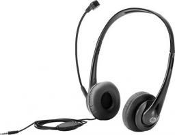 Słuchawki z mikrofonem HP STEREO 3.5MM HEADSET - T1A66AA