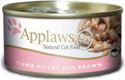 APPLAWS  Puszka Filet z tuńczyka z krewetkami - 70g