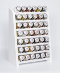 GALD Półka z 42 przyprawami biały mat (42NS)
