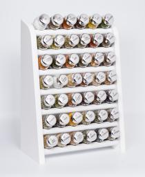 GALD Półka z 42 przyprawami biały połysk (42NS)
