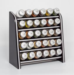 GALD Półka Silver z 30 przyprawami venga mat (30NS)