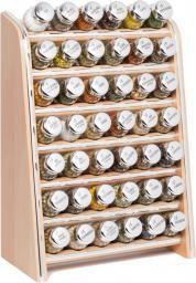 GALD Półka Silver z 42 przyprawami naturalny połysk (42NS)