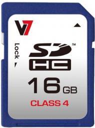 Karta V7 SDHC 16 GB Class 4  (VASDH16GCL4R-2E)