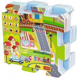 Trefl Edukacyjna układanka City Fun 5 w 1 (585411)
