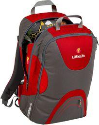 LittleLife Nosidełko turystyczne dla dziecka Traveller S3 czerwone (L10541)