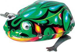 Goki Skacząca żabka, zabawka do nakręcania (MS082)