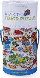 Crocodile Creek Puzzle 50el. motyw miasto tętniące życiem (CC-4050-6)
