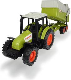 Dickie Traktor Claas z przyczepą, 36 cm (585809)