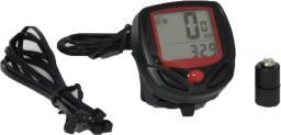 Axer Bike Licznik rowerowy wielofunkcyjny czarny (A1166)