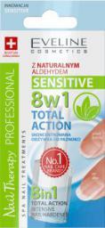 Eveline Odżywka do paznokci 8w1 Total Action Sensitive 12 ml