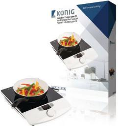 Płyta wolnostojąca Konig KN-INDUC-10