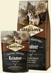 CARNILOVE Reindeer For Adult - 12 kg