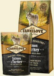 CARNILOVE Salmon & Turkey For Large Breed Adult - 1.5 kg