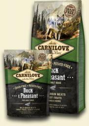 CARNILOVE Duck & Pheasant For Adult - 1.5 kg