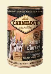 CARNILOVE Salmon & Turkey For Puppies - 400g