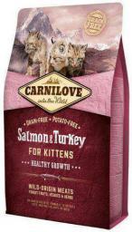 CARNILOVE Kitten Łosoś/Indyk Dla Kociąt 6kg