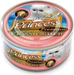 Princess KOT pusz 170g GOLD ŁOSOŚ stawy