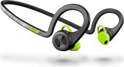 Słuchawki Plantronics BackBeat Fit Czarno-zielone (206005-05)