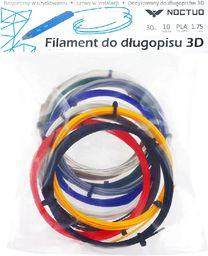 Sunen Wkłady zapasowe do długopisu do druku 3D 10 kolorów, po 3 m (RP30)