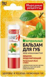 Fitocosmetics Naturalny balsam do ust MIĘTOWO-POMARAŃCZOWY FRESH 4,5 g