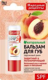 Fitocosmetics Naturalny balsam do ust Brzoskwiniowy dżem 4,5g
