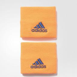 Adidas Opaska Tenisowa Na Nadgarstek S97905 Pomarańczowa Niebieskie Logo (29240)