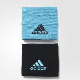 Adidas Opaska Tenisowa Na Nadgarstek S97906 Błękitna I Czarna (29241)