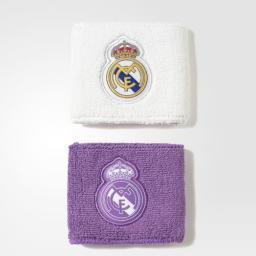 Adidas Opaska Tenisowa Na Nadgarstek Real Madrid S94901 Biała I Fioletowa (29236)
